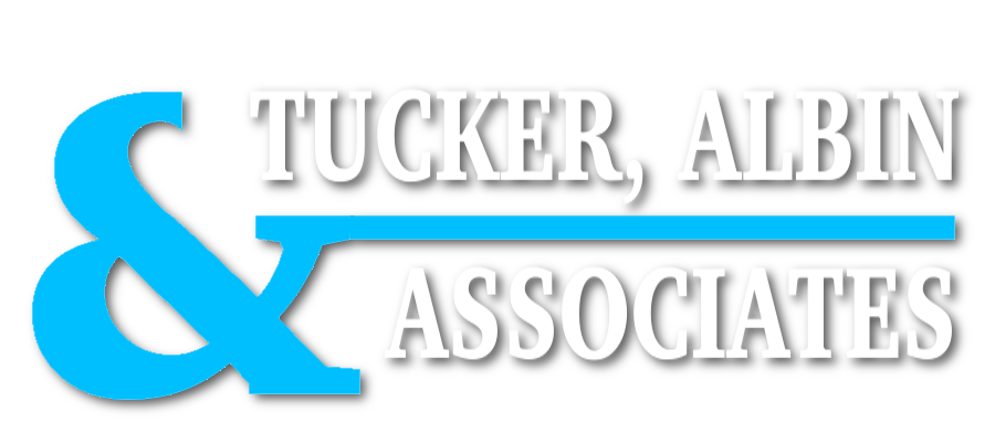 Tucker Albin and Associates logo they are a business debt collection agency